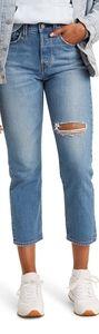 Levi's Sz 25 Wedgie High Waist Straight Leg Jeans